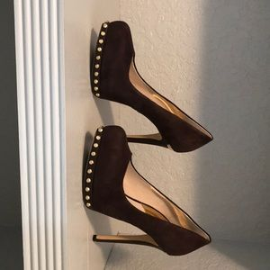 Michael Michael Kors Brown pumps with studs